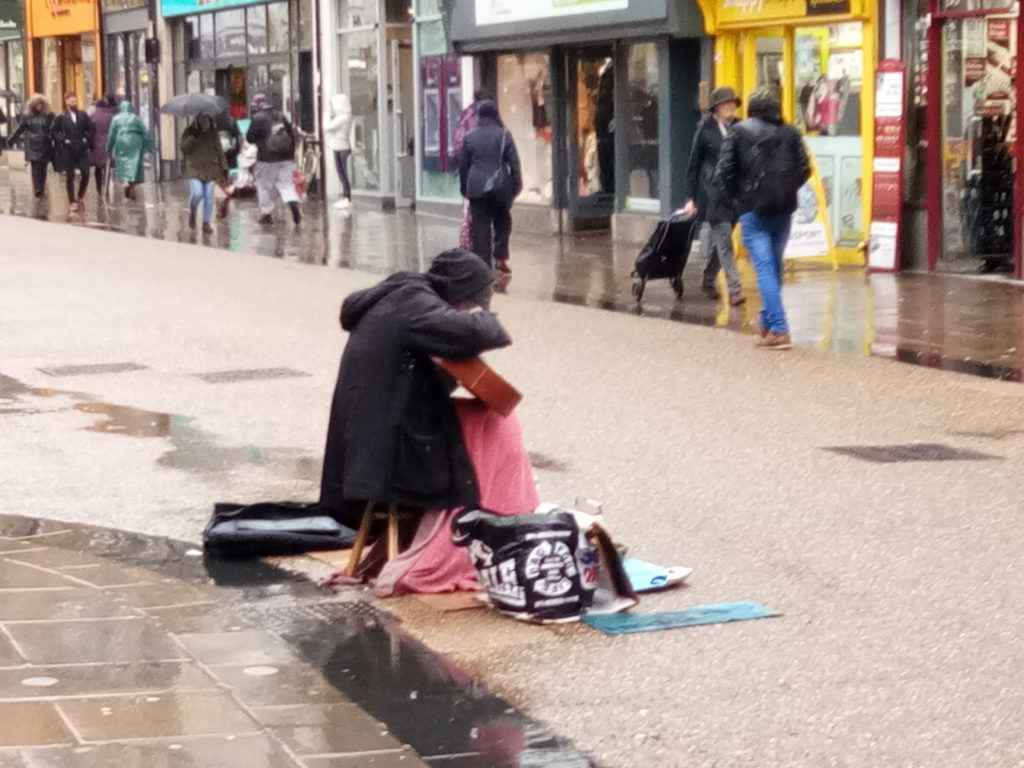 Buskers in Oxford