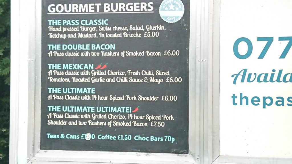 Gourmet burgers in Chichester