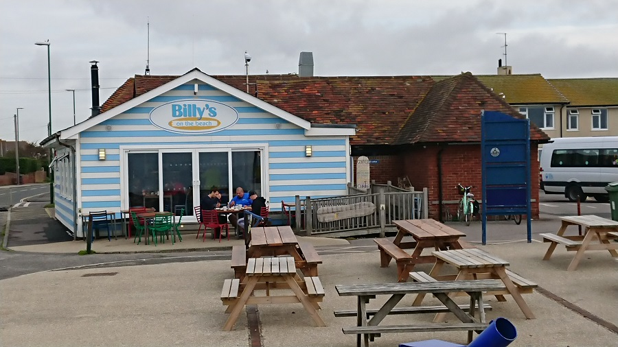Beach restaurants on the South Coast West Sussex