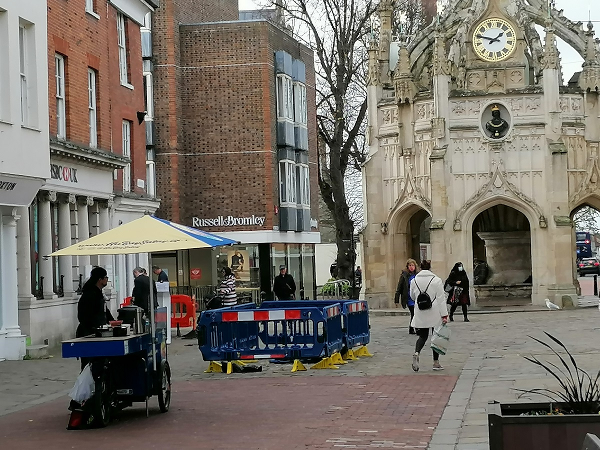 Street traders - street food in Chichester